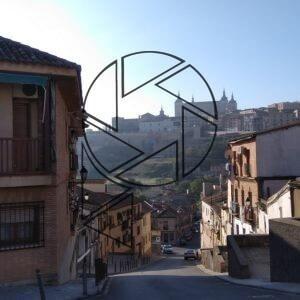 Pohled na centrum Toleda