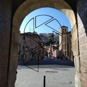 Puerta de Bisagra, detail