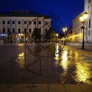Széchenyi tér v noci