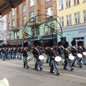 Královská kapela v ulicích