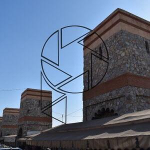 Věže hradeb mediny