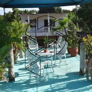 Naše terasa v La Boca