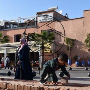 Všední život v Marrakéši