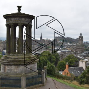 Pohled k hradu