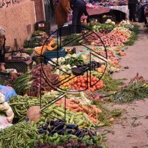 Trh pro místní v medině I