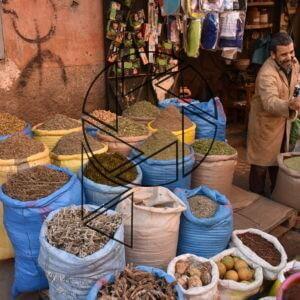 Trh pro místní v medině II