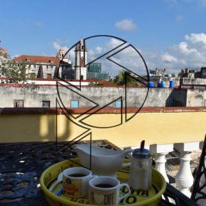 Odpolední káva v Havaně