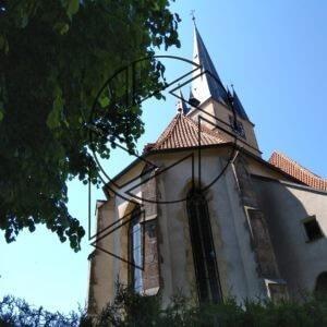 Ledečský kostel (2019)