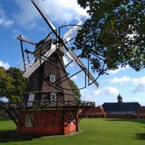 Větrný mlýn v Katellet (2019)