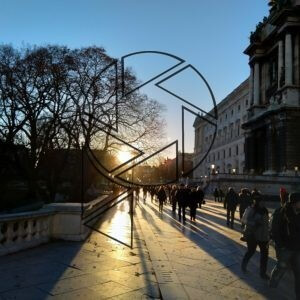 Západ slunce nad Vídní (2018)